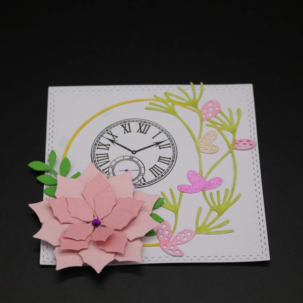 Metal Cutting Dies Making Scrapbook Greeting Card Decor Paper Embossing