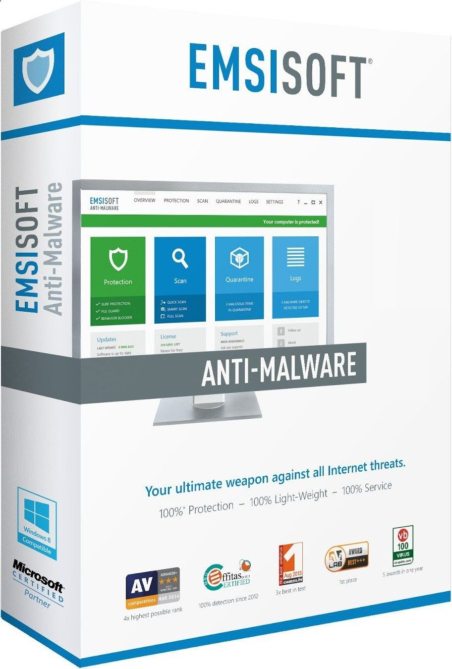 Emsisoft anti malware 11 5 1 crack license key full download from here and