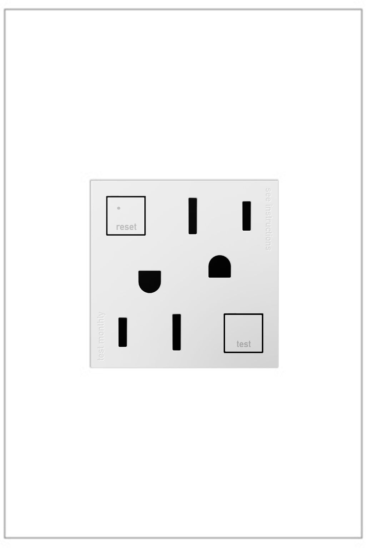 Adorne Tamper Resistant Self Test Gfci Outlet Gfci Home Decor Electrical Outlets