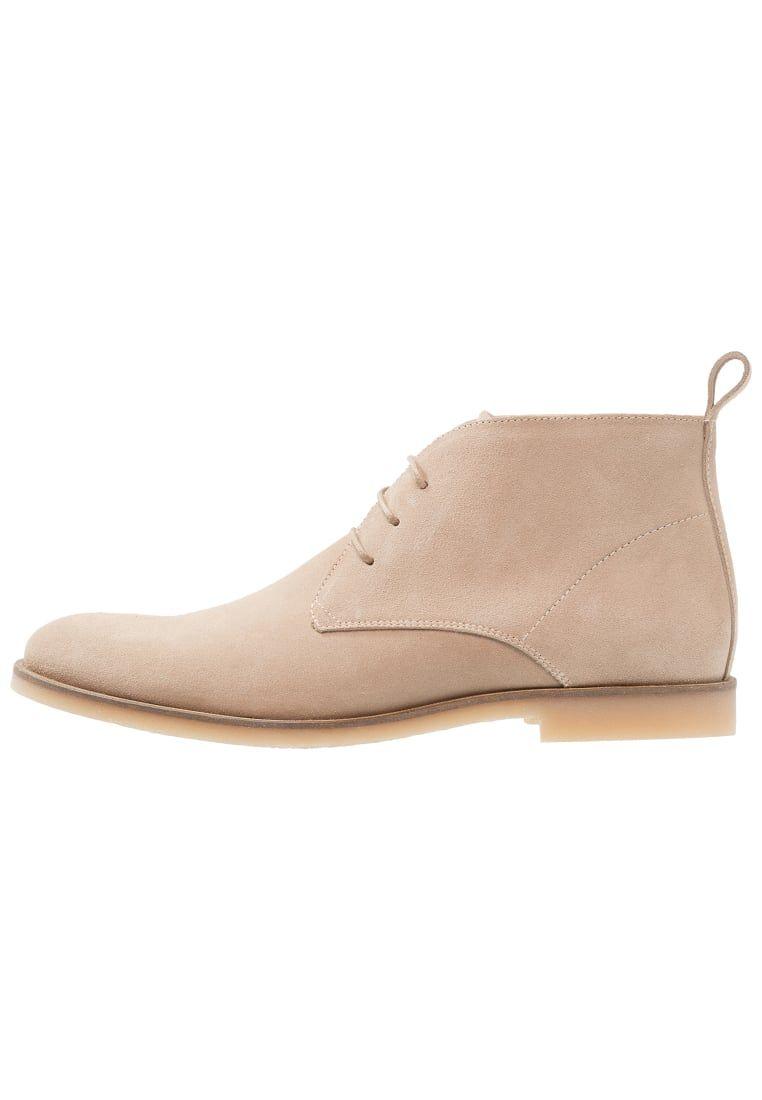 Find Zapatos de Serraje con Cordones Hombre, Beige (Sand), 42 EU
