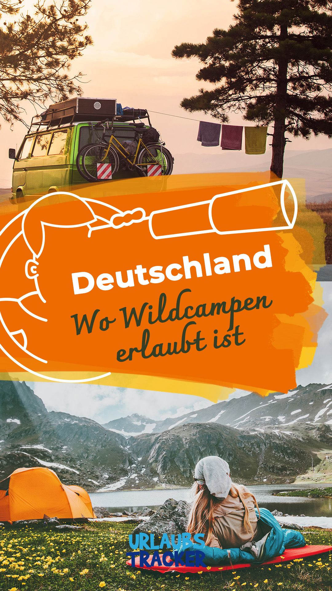 Wildcampen in Deutschland Hier ist es erlaubt