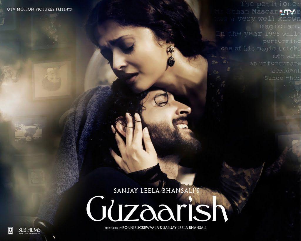 Guzaarish I Official Trailer 2010 Hrithik Roshan I Aishwarya Rai Bachchan Bollywood Movies Movies Bollywood Movie