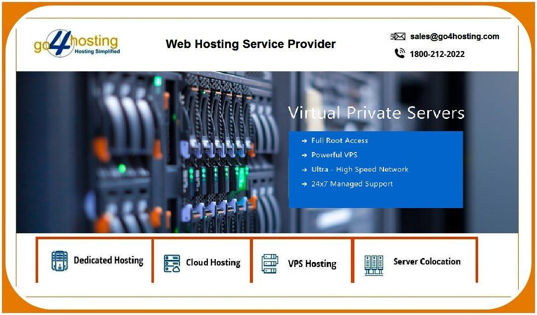 VPS Hosting Providers in India Go4hosting Virtual