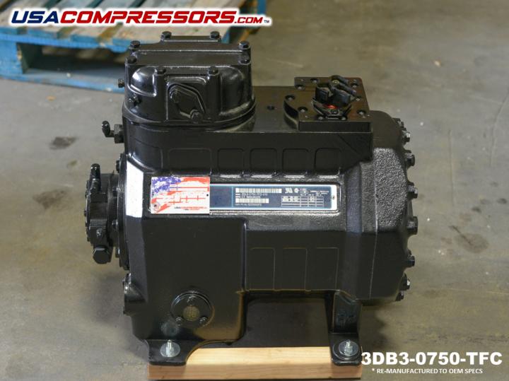 Copeland 3db30750tfc Reciprocating compressor, Ebay, Oem