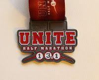 Unite Rutgers half marathon 2011 medal
