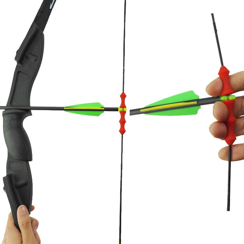 1pc Archery Guard Bowstring Finger Recurve Bow Release Silicon flecha e Tab