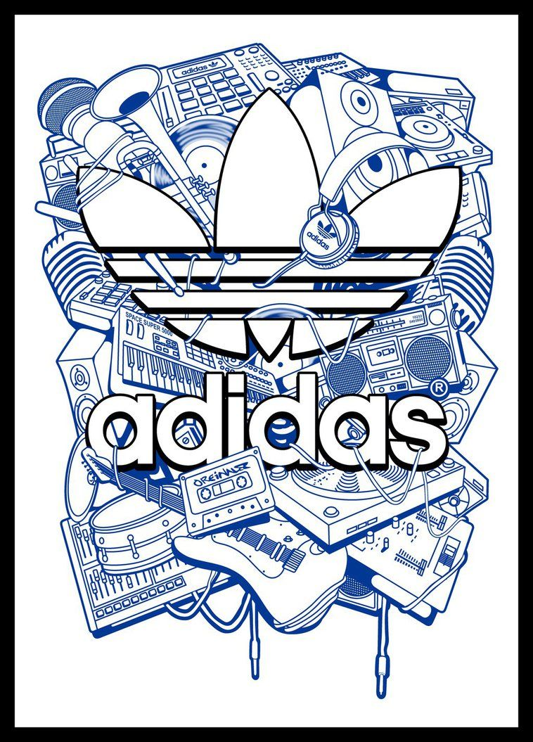 Logo Vector Adidas Logo Wallpapers Neon Adidas Logo Black