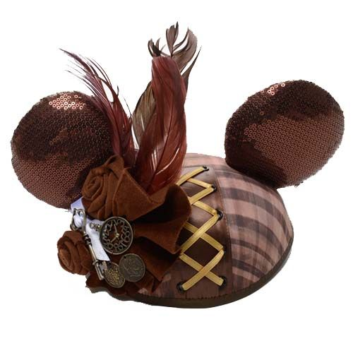 665c743ec22 Walt Disney Limited Time Steampunk Minnie Mouse Ears Hat RARE! Disney  Steampunk mouse ears! These are a must have vintage looking minnie ears  disney world ...