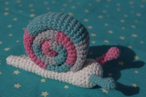 Little Snail | Crochet snail, Crochet patterns amigurumi ...