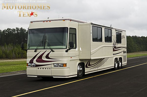 1998 Newell Coach 43 C1548 Luxury Motorhomes Newell Motorhome