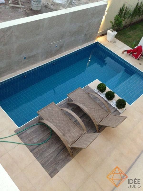 Piscina peque a proyectos a intentar pinterest Piscinas pequenas en patios pequenos