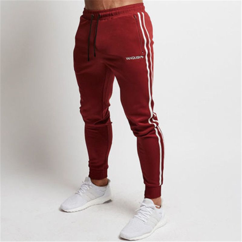 Comprar Hombres Sport Pantalones Largo Pantalones Fitness Entrenamiento Gimnasio Pantalones De Chandal Jogger Pants Casual Mens Pants Casual Mens Jogger Pants