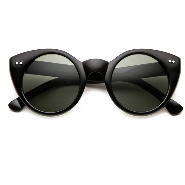 80s - Annette Women's Cat Eye Sunglasses (more colors) ($14) ❤ liked on Polyvore