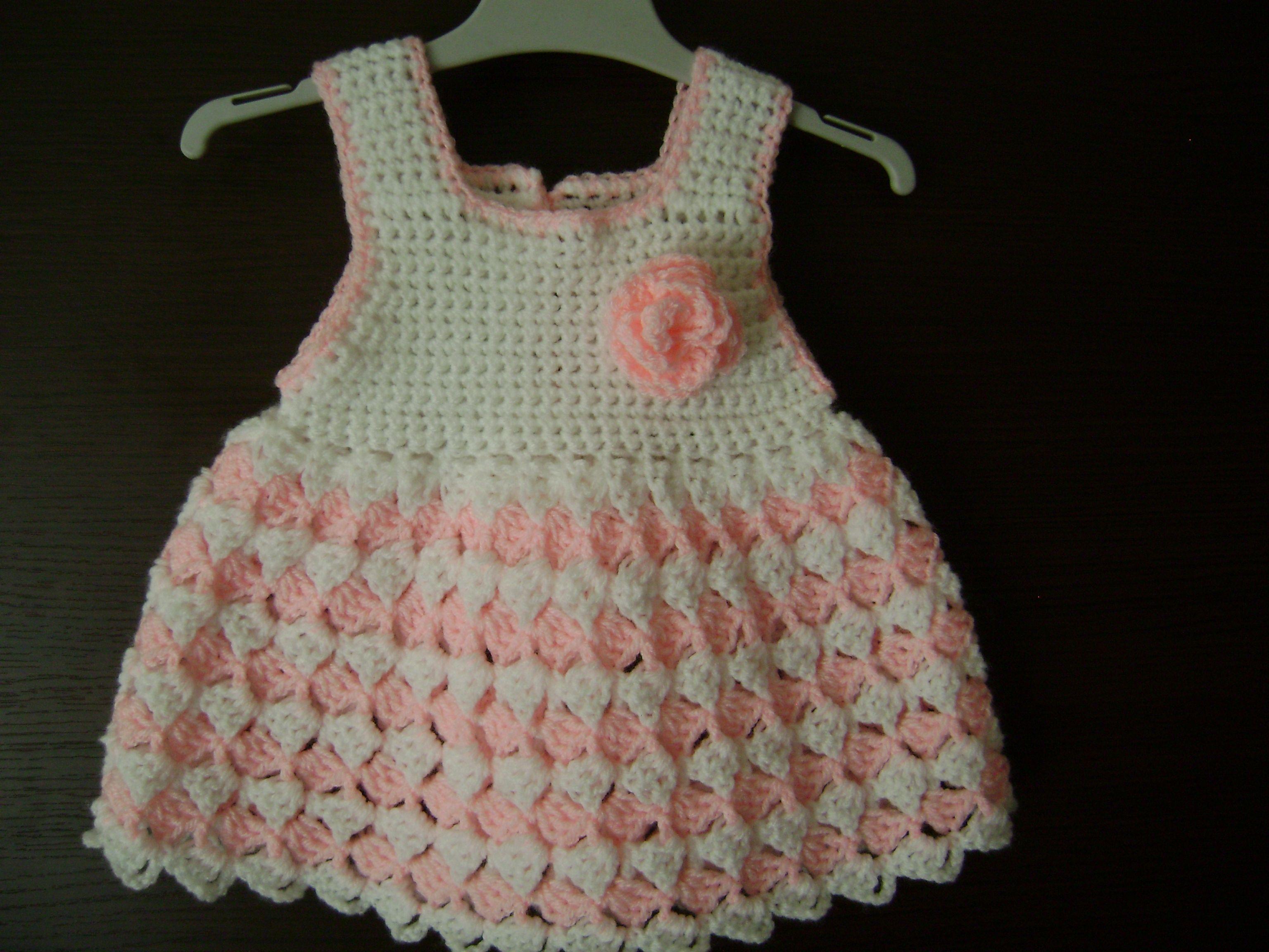 Baby dress | CROCHET BABY DRESS | Pinterest