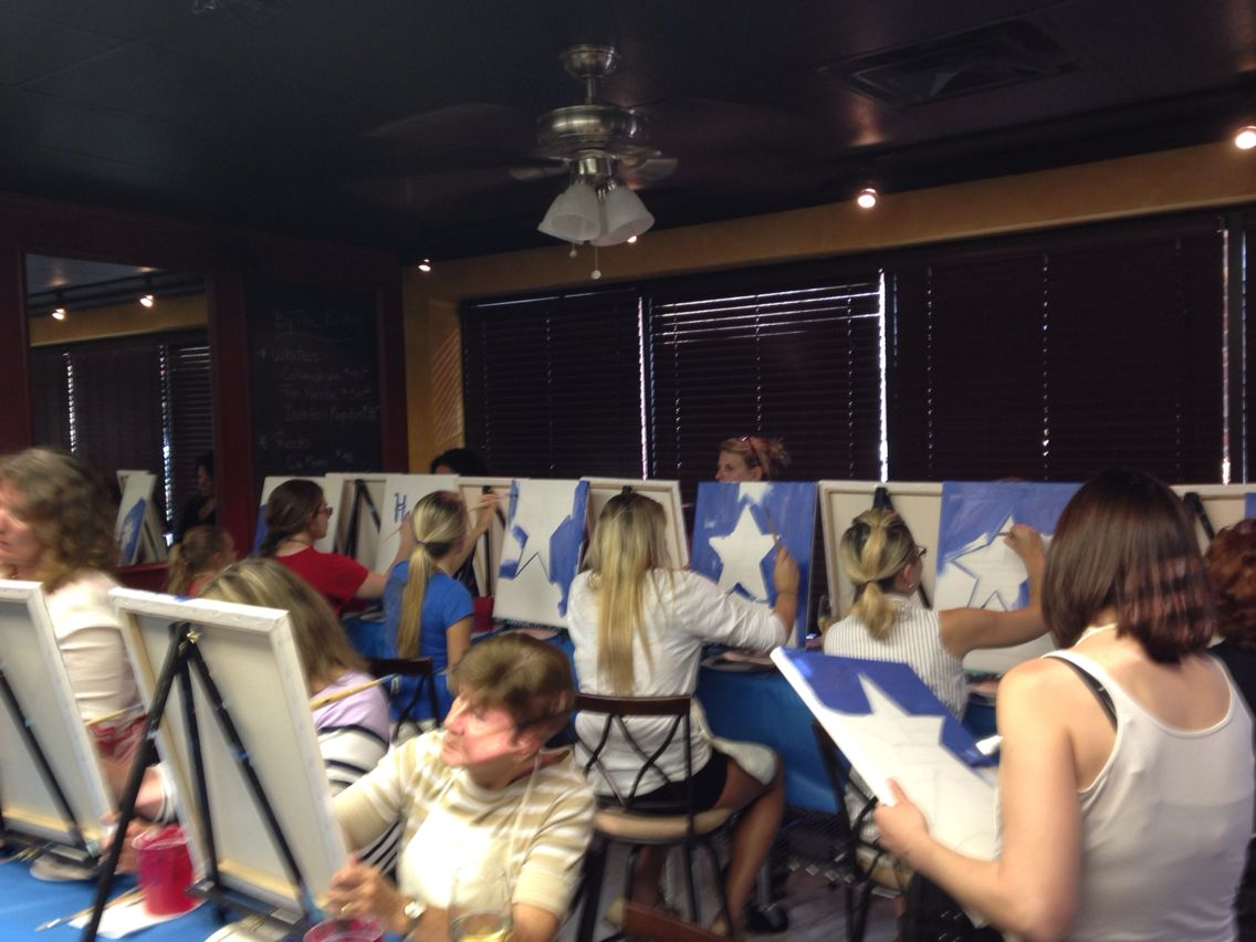 Paint and Wine Event