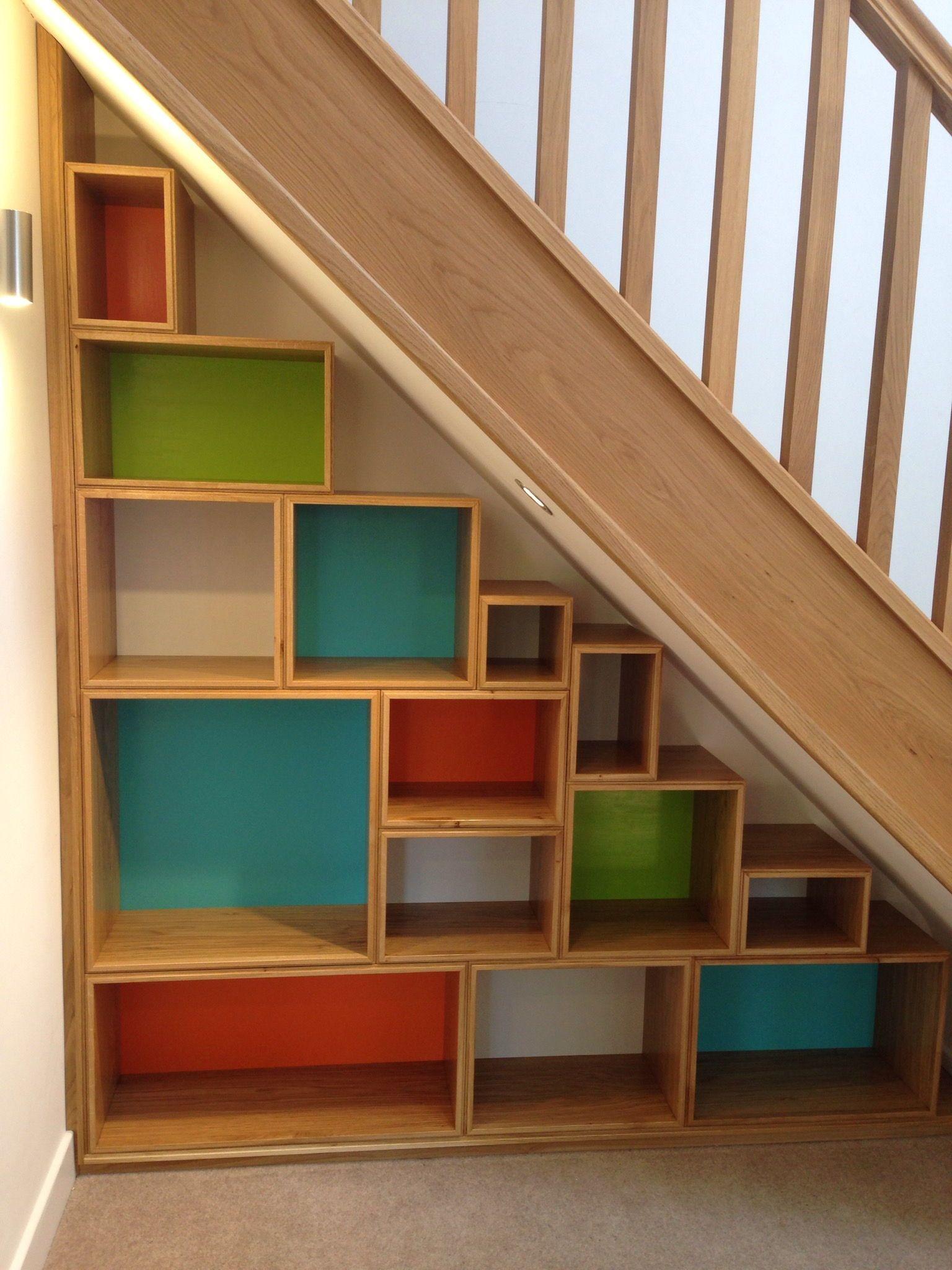 8 Genius Under Stairs Storage Ideas In 2020 Stair