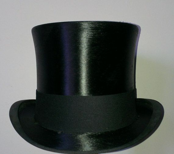 086fedb9 I have for sale a black silk top hat, made on the 24th of August ...