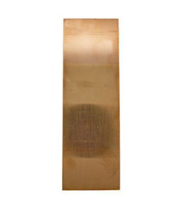 Copper Sheet 24ga 6 in x 6 in .51mm Thick