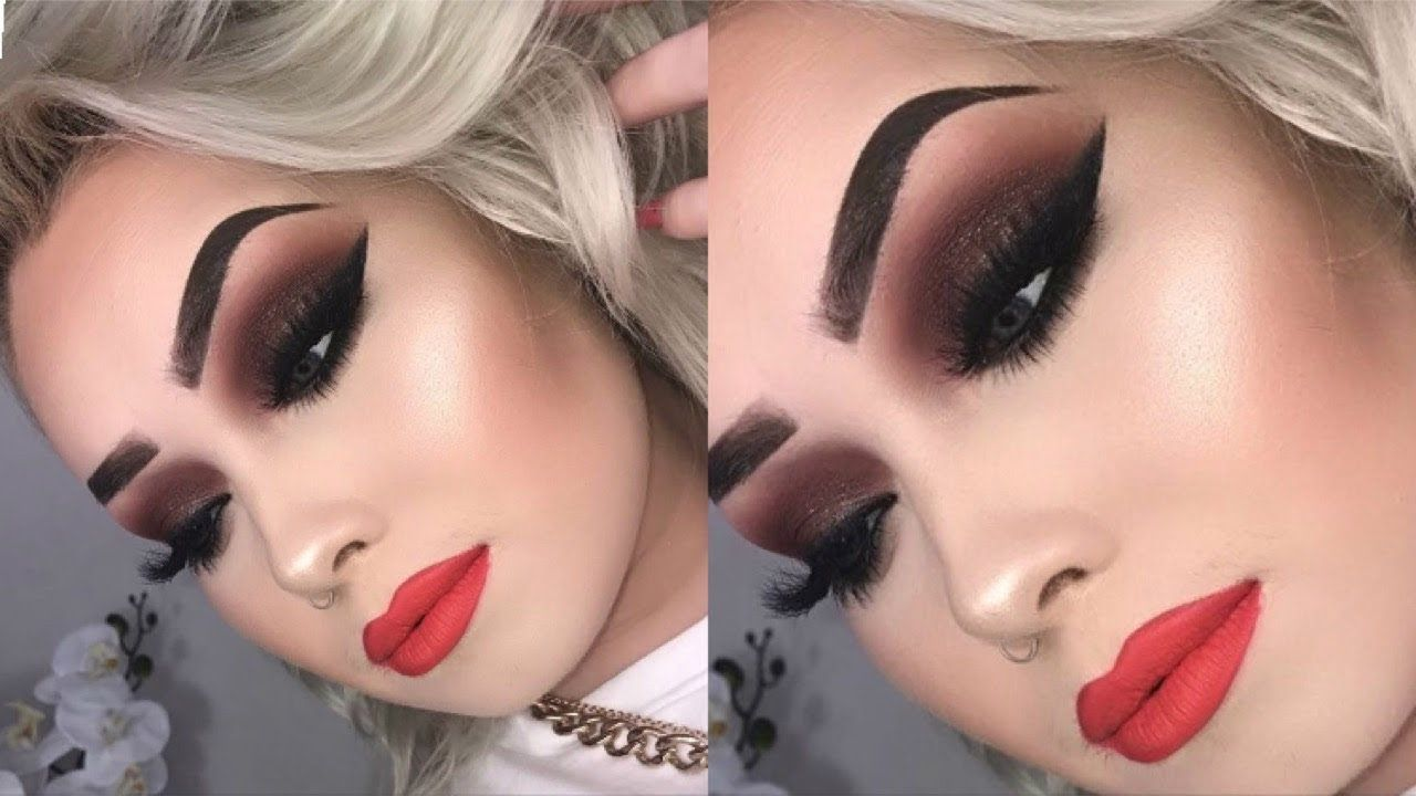 FULL GLAM Sultry Makeup Tutorial YouTube Sultry