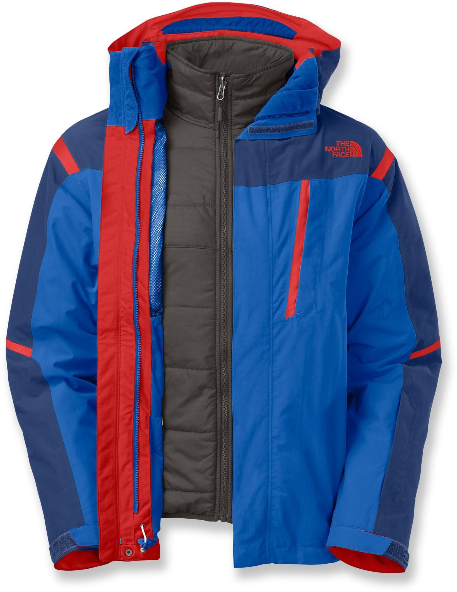 The North Face Vortex Triclimate 3 In 1 Insulated Jacket Men S Rei Co Op Triclimate Jacket Sports Fashion Men Jackets [ 2000 x 1546 Pixel ]