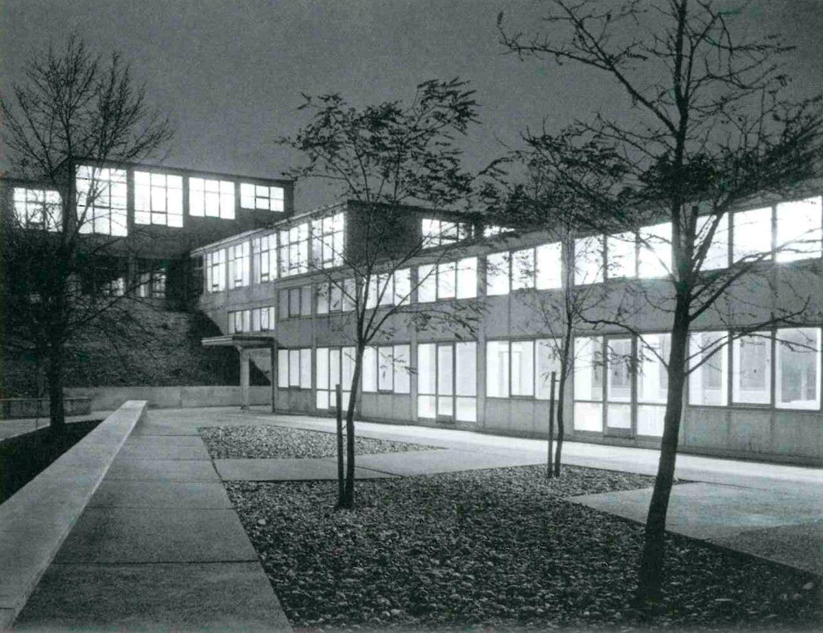 max bill hochschule f r gestaltung ulm 1950 1955 a r q u i t e c t u r a a r c h i t e c. Black Bedroom Furniture Sets. Home Design Ideas