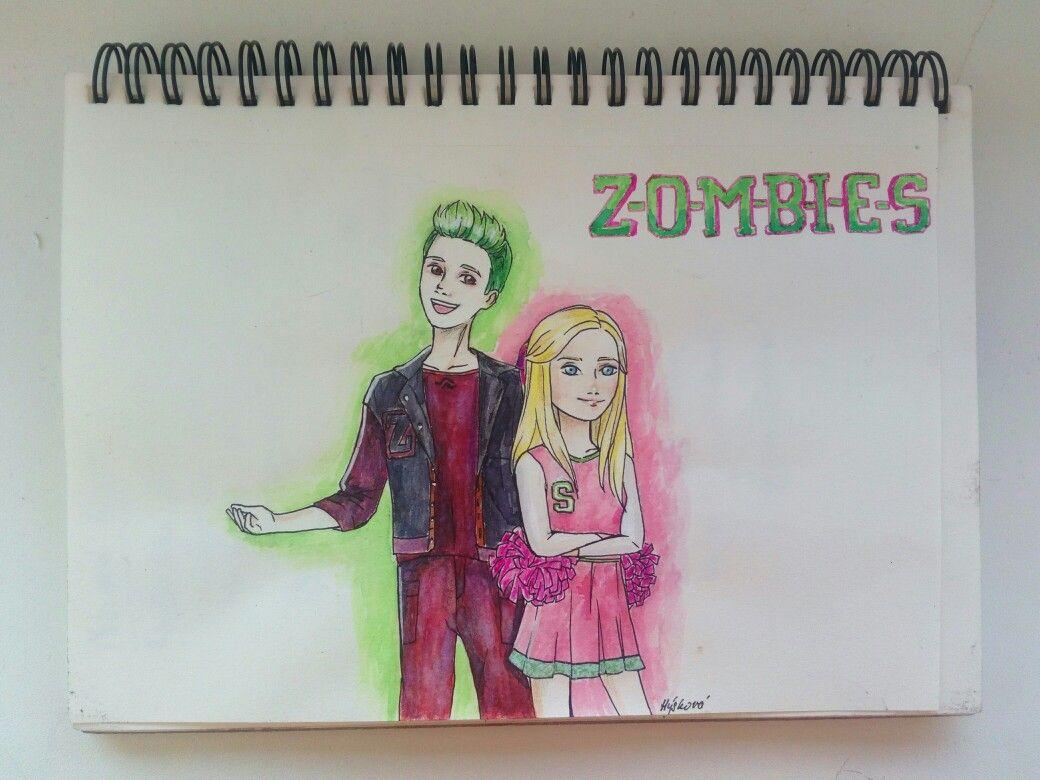 New Movie Zombies Is Amazing I Love Milo Manheim He Is So Cool Zombie Disney Zombie Drawings Zombie Movies