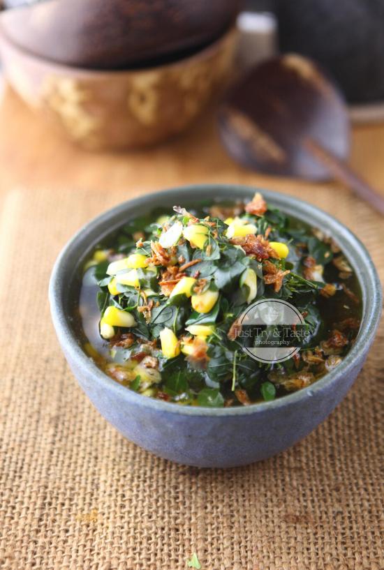 Sayur Bening Daun Kelor Moringa Leaves Soup Makanan Resep Sayuran