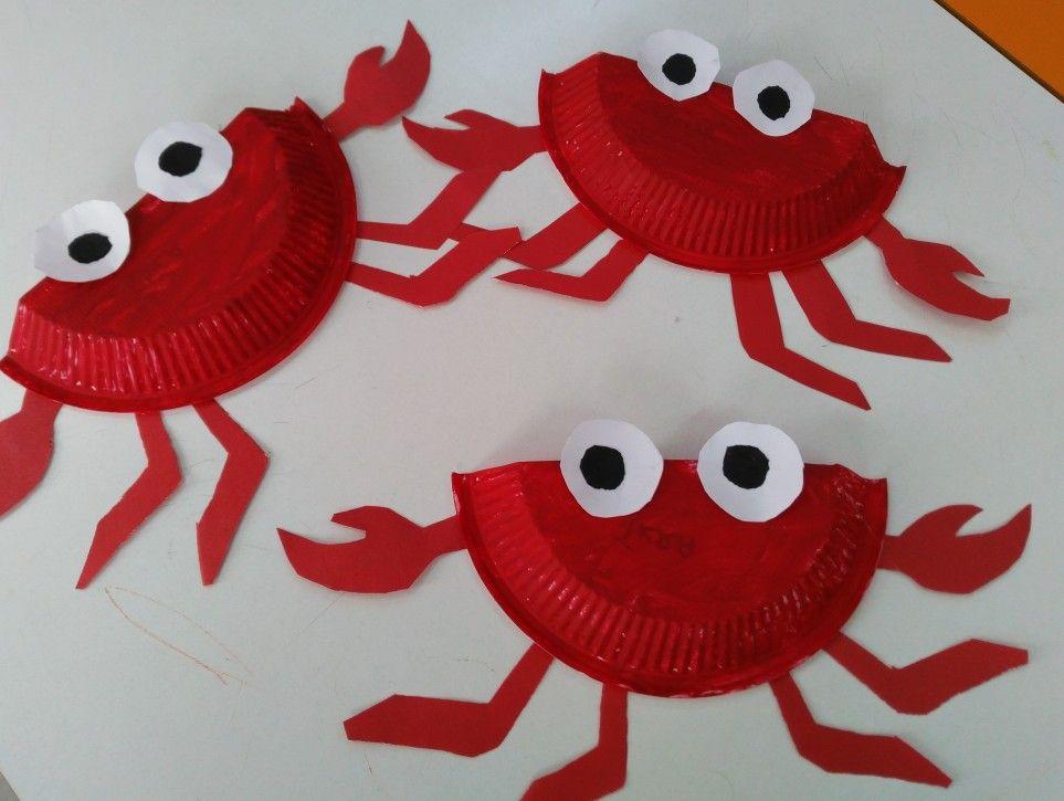 Plastik Tabakla Yengec Crab Yastiklar