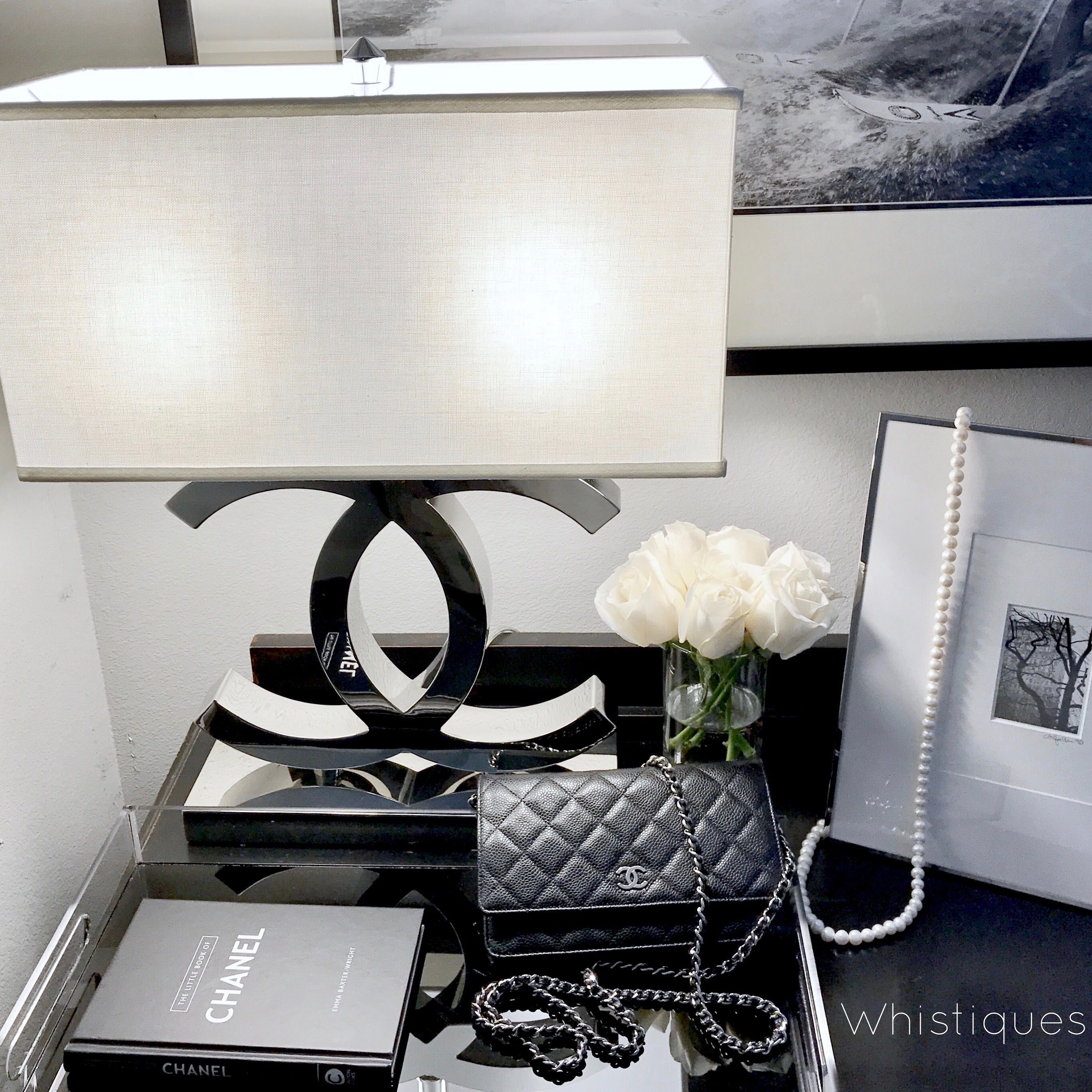 { Coco Lamp } Chanel, Styling