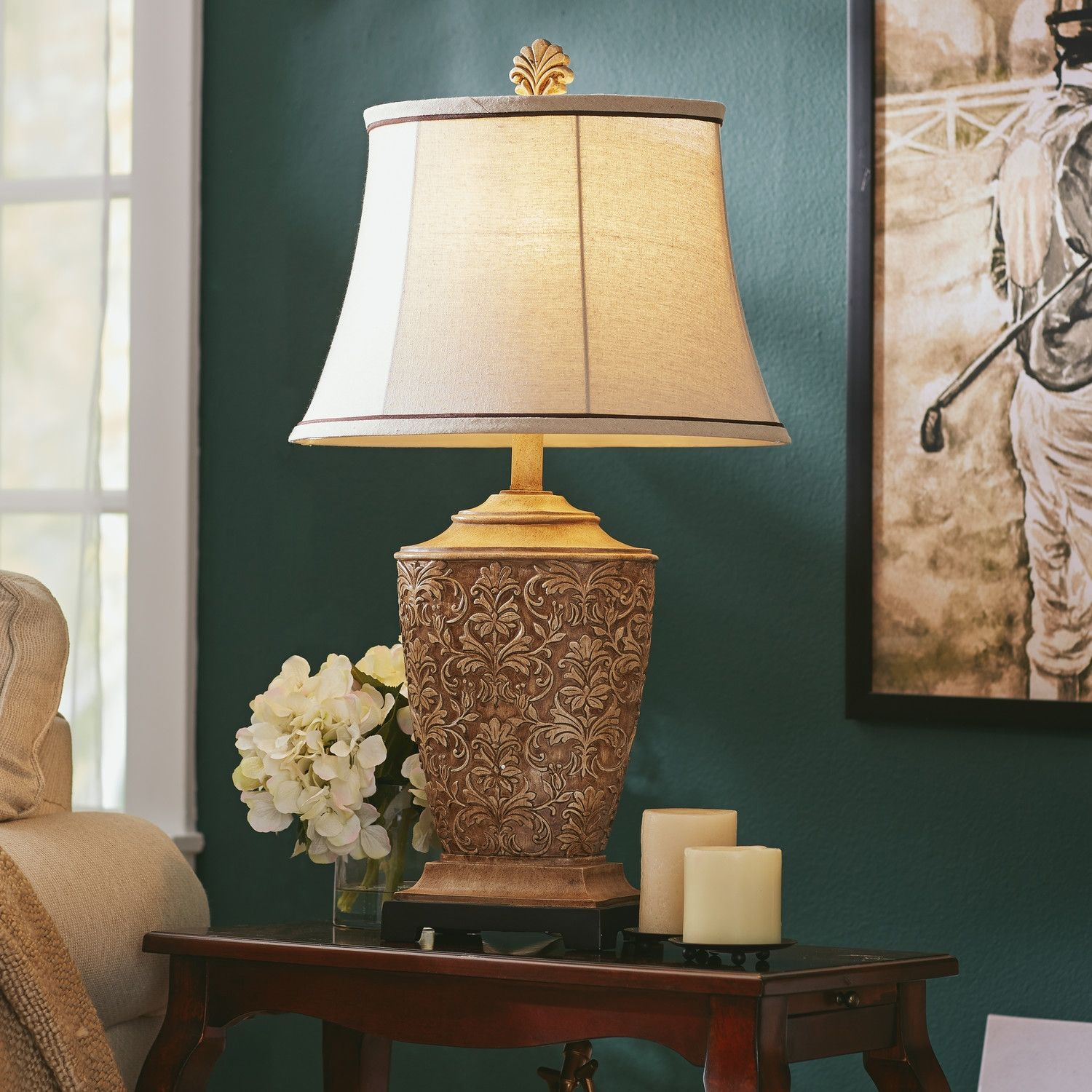 10 elegant and warming cheap table lamps for living room - Living Room Table Lamps