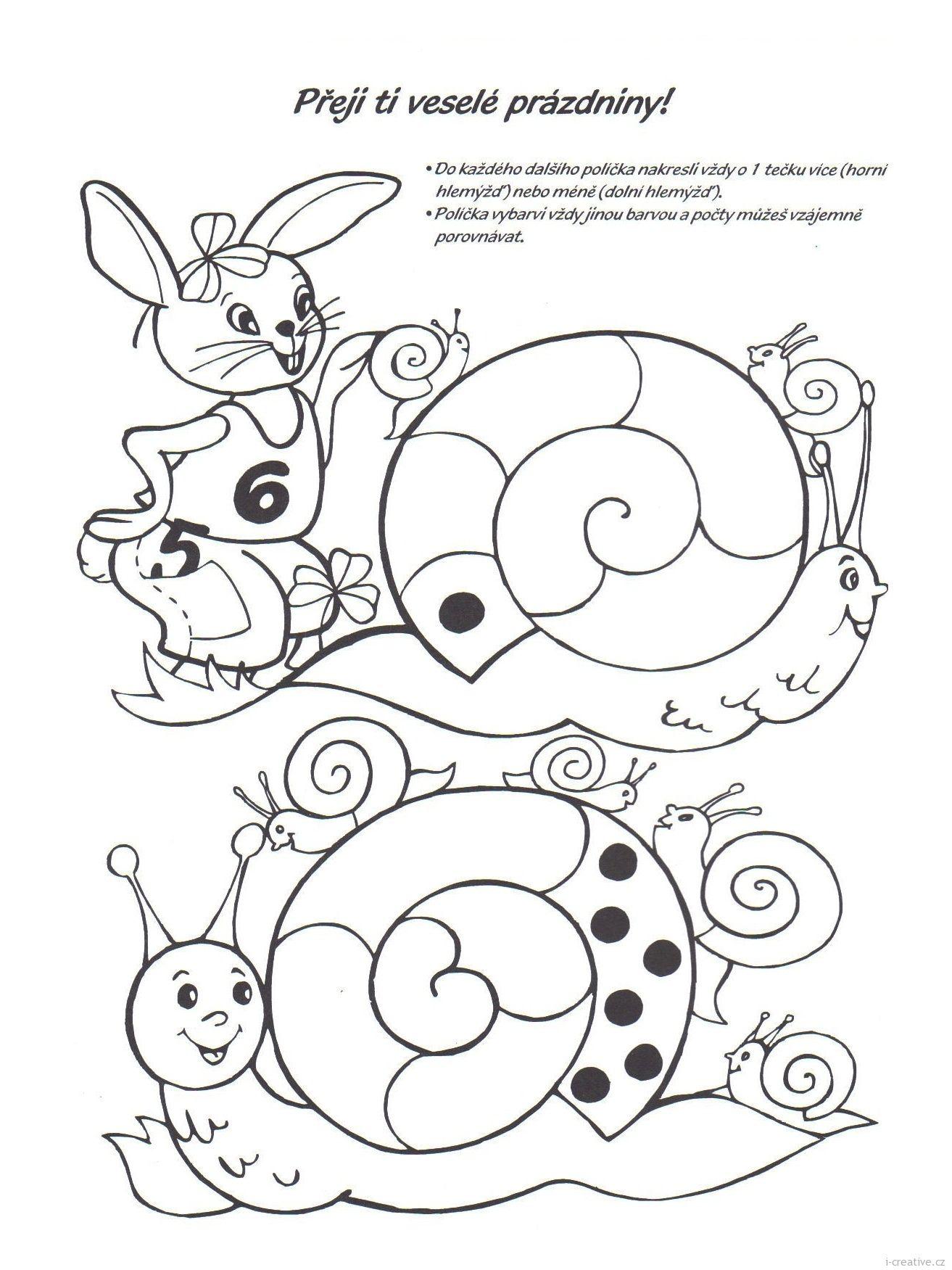 Pracovni Zabavne Grafomotoricke Listy K Vytisknuti Na Tema Jaro