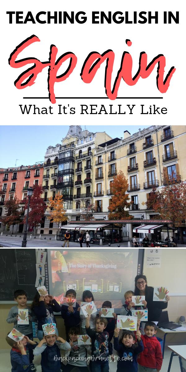 Auxiliares De Conversacion What It S Really Like To Teach English In Spain Teaching English Teaching English Abroad Travel Abroad
