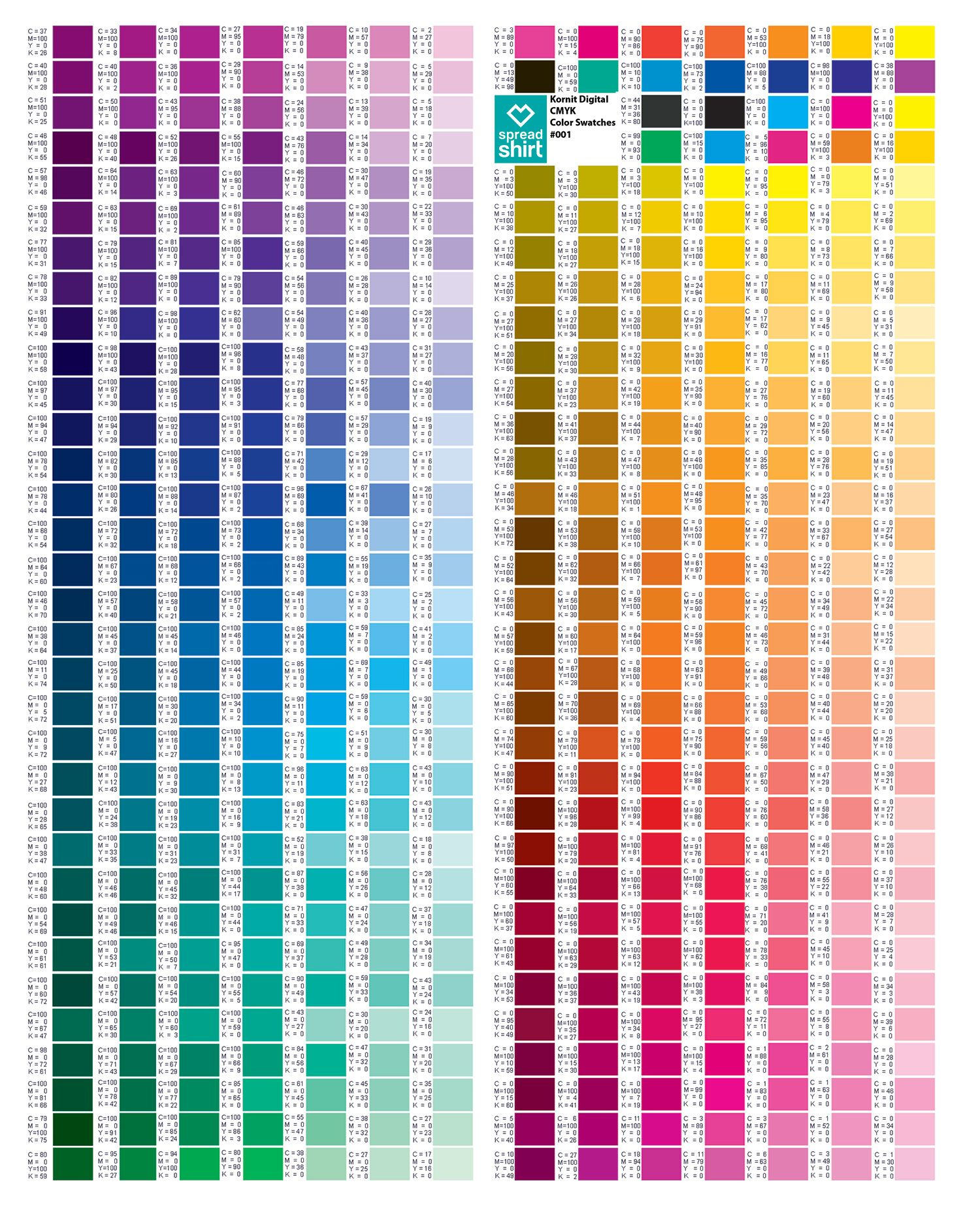 Pin By Yasar On Art In 2018 Pinterest Colour Chart Cmyk Color