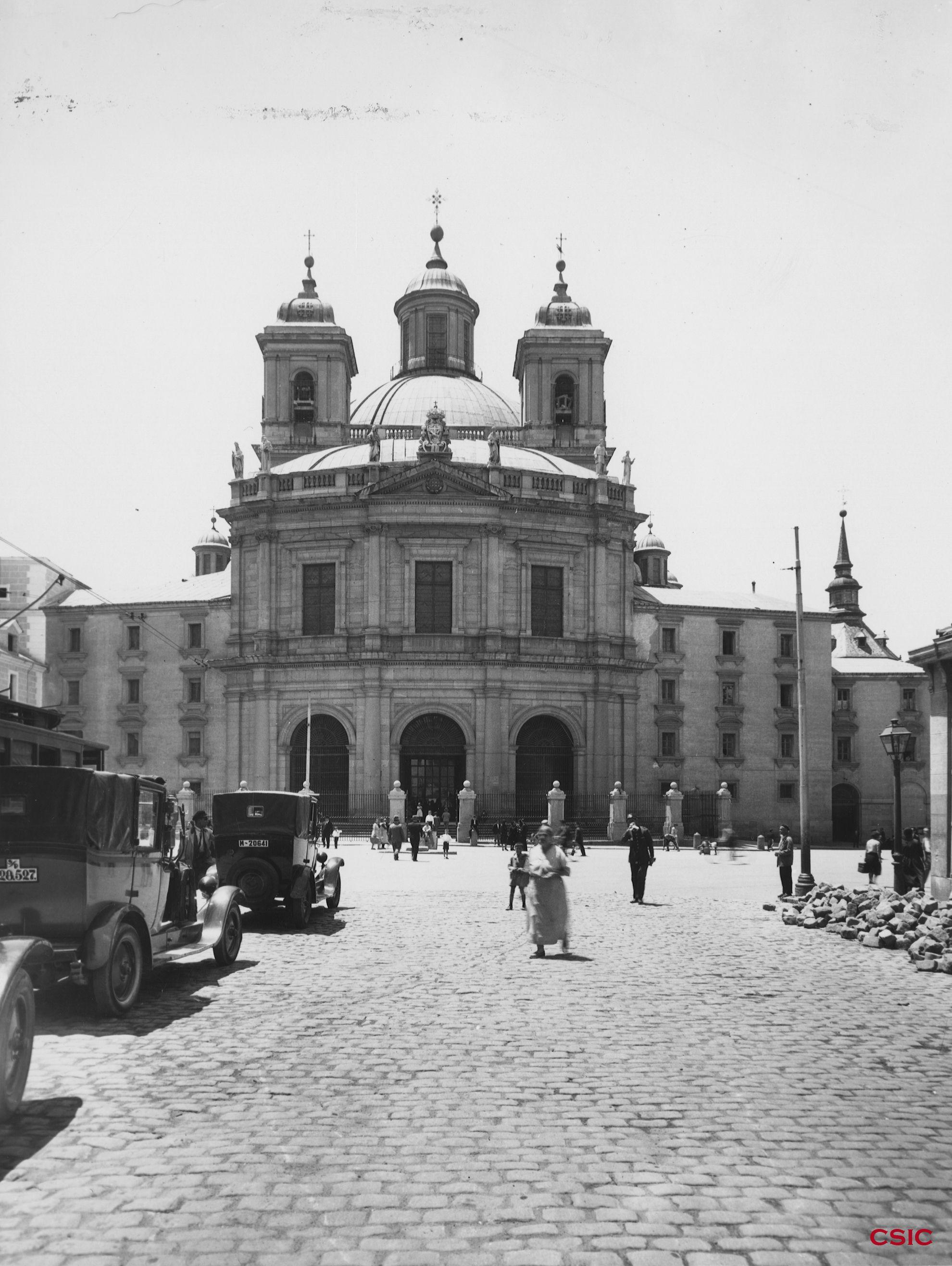 Real Basílica De San Francisco El Grande Colección General De Arquitectura Acchs Csic Fotos Antiguas Madrid Foto Madrid Fotos Antiguas