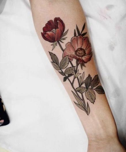 43 Идеи татуировки предплечья женщины надпи…