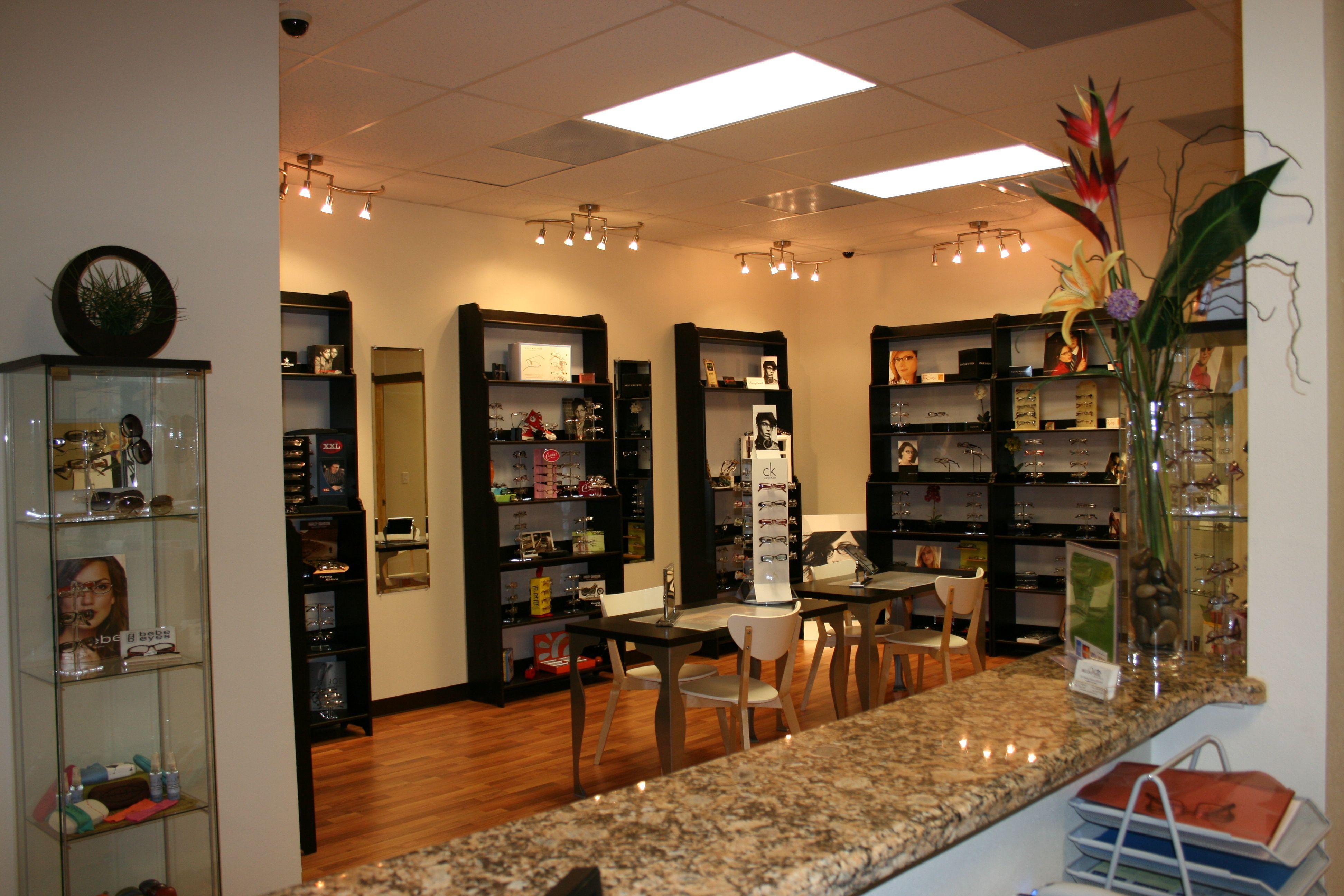 Bella Vista Eye Care Shop Interiors Store Interiors Office Remodel