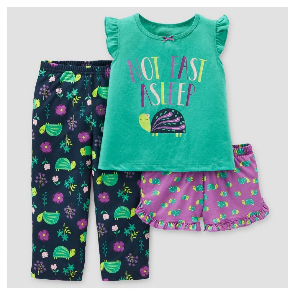b5f4c715003a Baby Girls  3-Piece Pajama Set Turtles 18M - Just One You Made by ...
