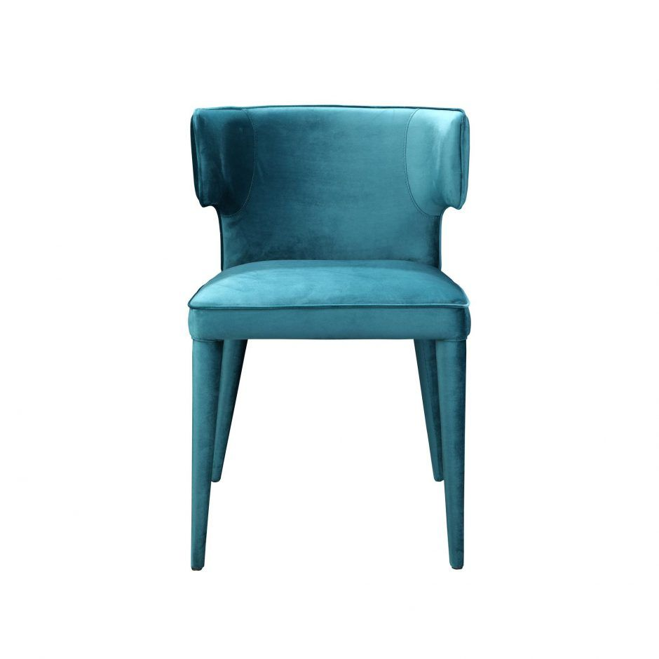 Jennaya dining chair teal dining chairs moes wholesale