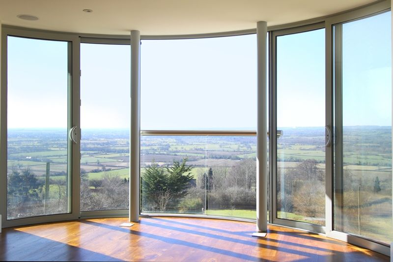 Curved Glass Sliding Doors httpwwwbalconettecouk My Style