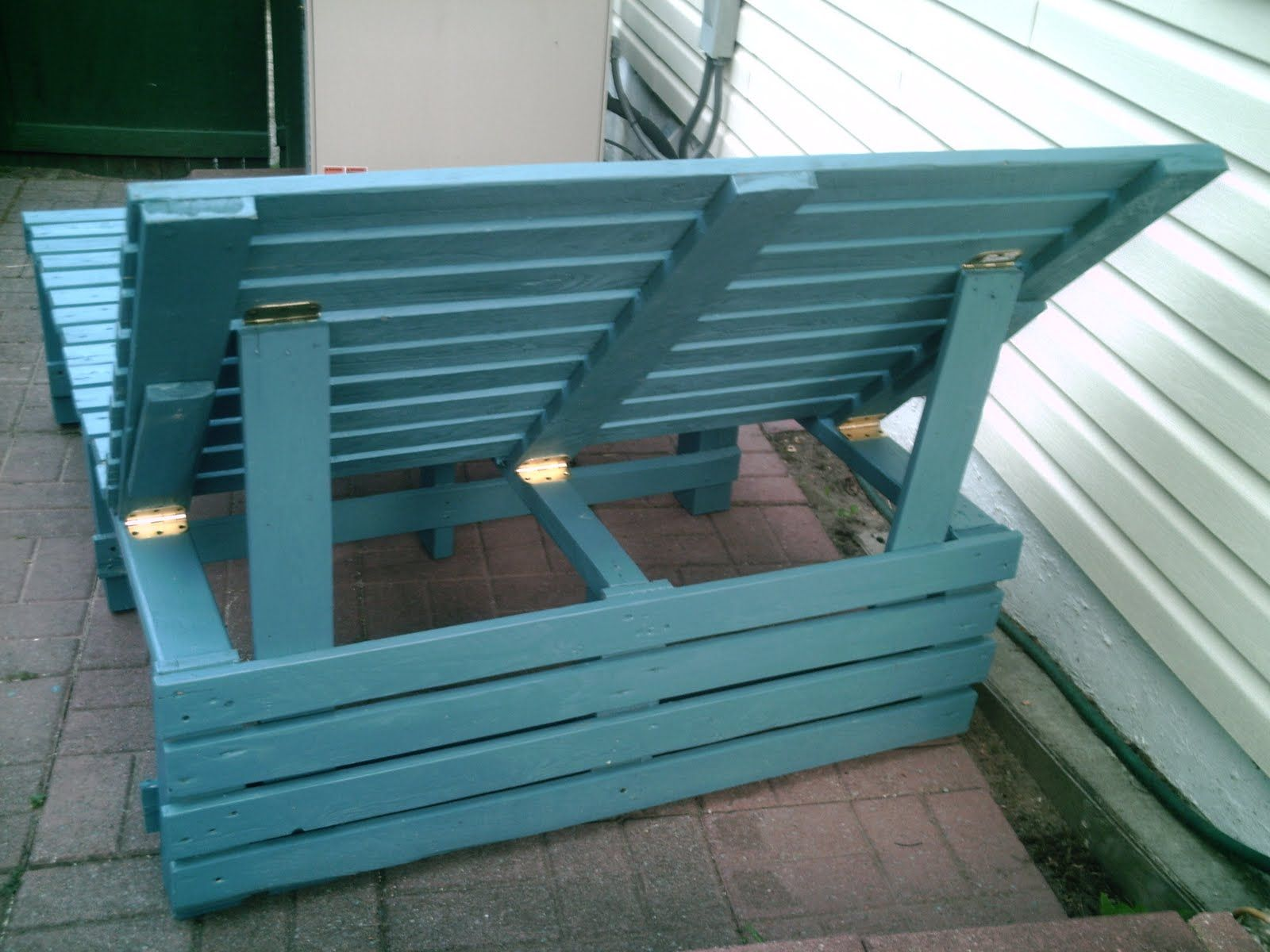Pallet Lounge Chair Pallet Lounge Chair Homemade garden lounge