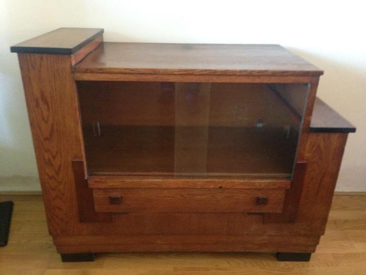 Haagse School Meubels : Cor alons theekast haagse stijl old furniture art deco