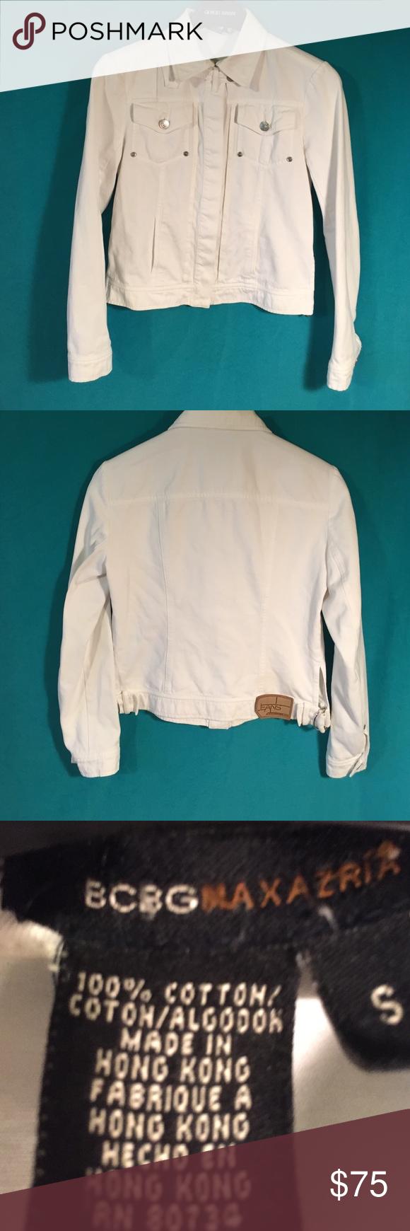 BCBG maxazria jean jacket BCBG max jean jacket. Super cute . Great condition. BCBGMaxAzria Jackets & Coats Jean Jackets