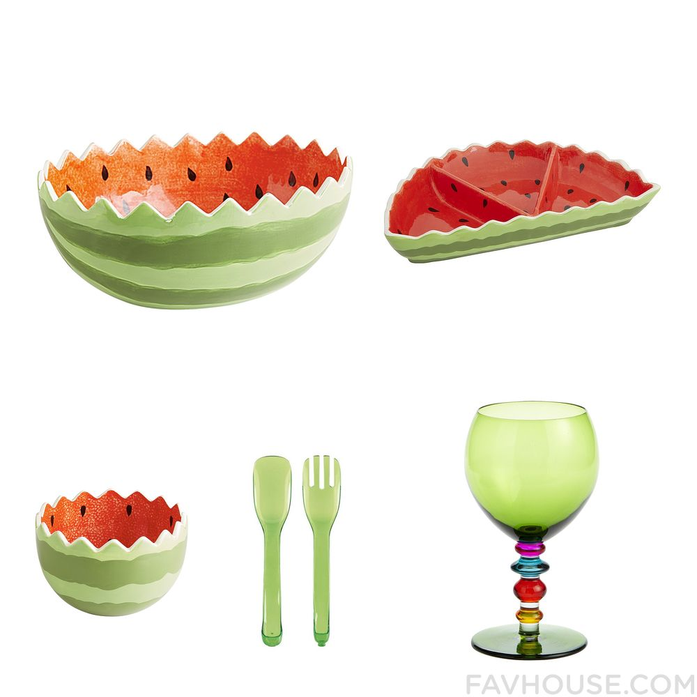 Decor Things With Pier 1 Imports Serveware Watermelon Bowl Pier 1