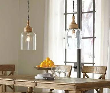 Handmade Blown Glass Pendant Light Miro Lamp Short Pendant With