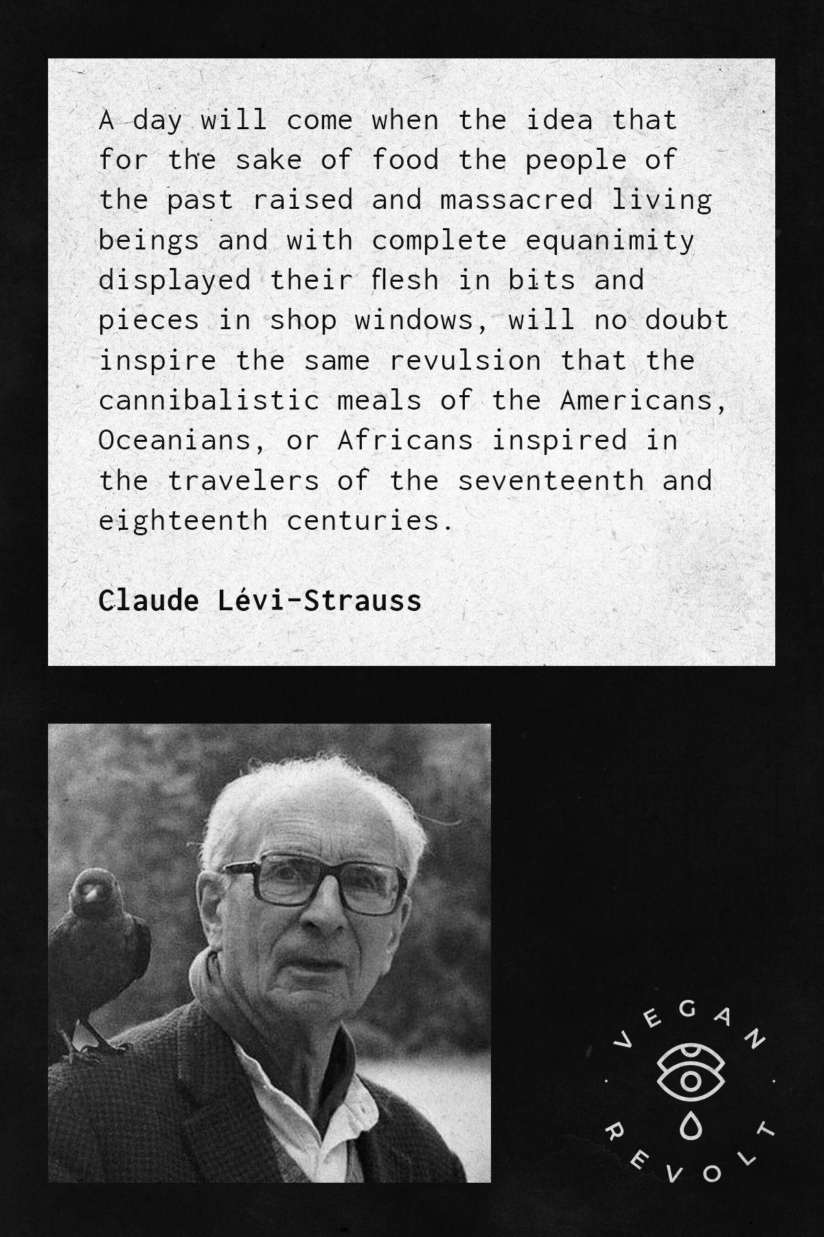 Claude Levi Strauss Vegan Quotes Vegan Instagram Photo