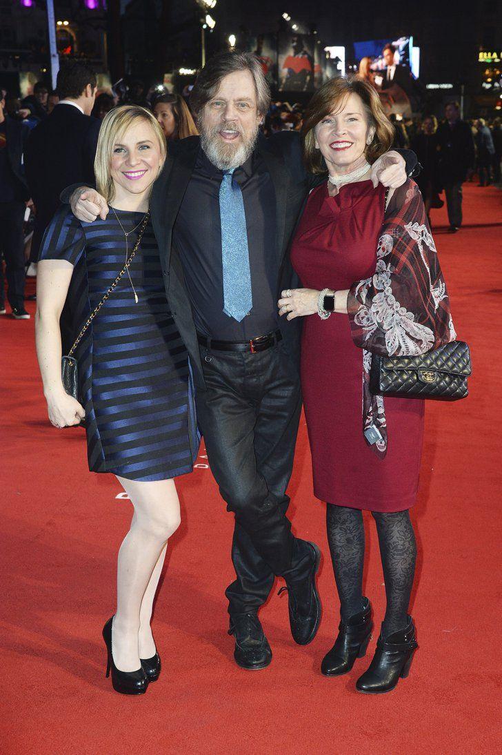 Chelsea Hamill, Mark Hamill, and Marilou York   Pinterest