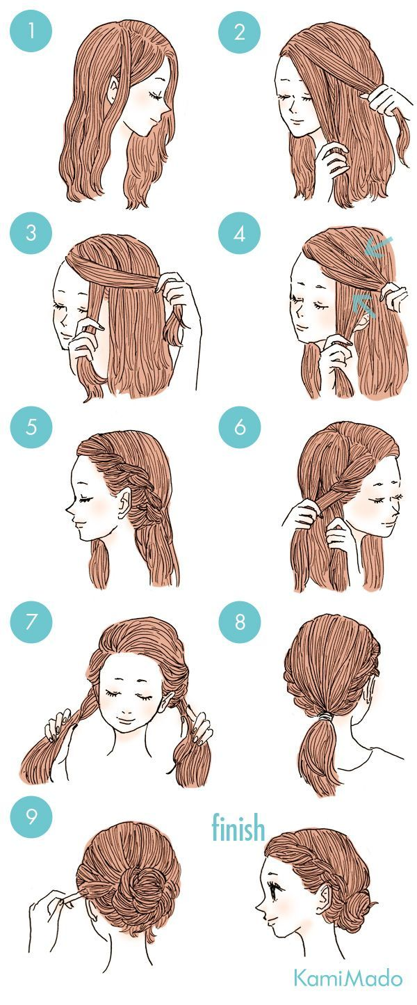 Sporty and fancy hairstyles braids and hair pinterest fancy