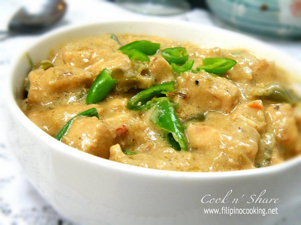 One of my favorite filipino dishes! Chicken Bicol Express