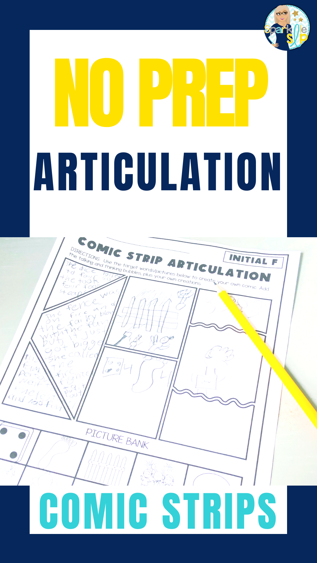 Articulation Activities For Speech Therapy Comic Strips K