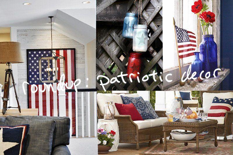 patriotic decor at the link